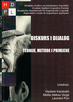 Proučavanje diskursa i dijaloga između teorije, metoda i primjene (2011)